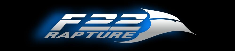 F-22 Logo Blue 2019